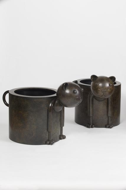 , 'Pair of Chat-Pot ,' 2013, Galerie Dumonteil