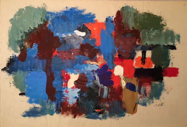 , 'Mill Pond (Waterfall),' 1965, Caldwell Gallery Hudson