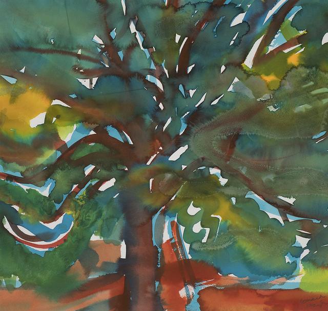 Romare Bearden, 'Island Plum Tree', ca. 1977, Aaron Payne Fine Art
