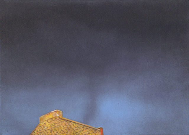 , 'Postcards to AZ: Skyscape No. 1,' 2016, Josée Bienvenu