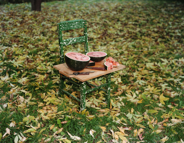 , 'Watermelon and Chair,' 1982, George Eastman Museum