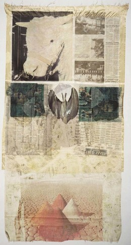 Robert Rauschenberg, 'Ringer State', 1974, Solvent transfer and collage on fabric, Robert Rauschenberg Foundation