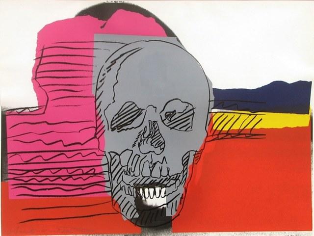 Andy Warhol, 'Skulls (FS II.159)', 1976, Print, Screenprint on Strathmore Bristol Papaer, Revolver Gallery