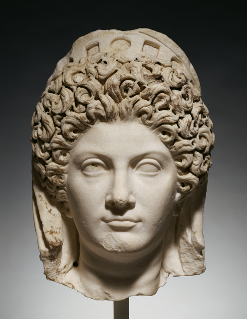 'Portrait Head of Julia Titi',  about 90, J. Paul Getty Museum