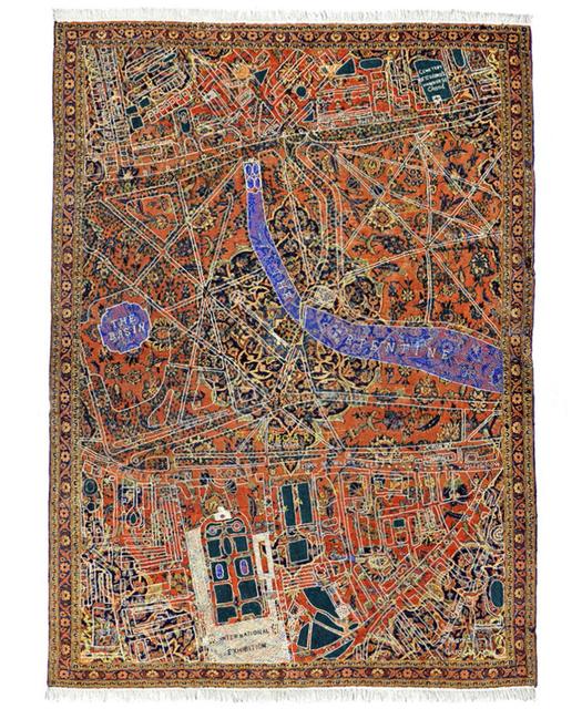 David Chalmers Alesworth, 'Hyde Park Kashan, 1862 ', 2011, GALLERYSKE