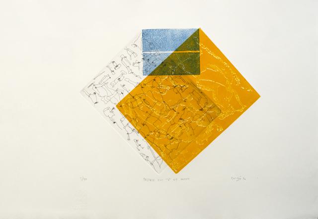 ", 'Desfase en ""v"" de huevo,' 2016, Lux Perpetua Art Centre"