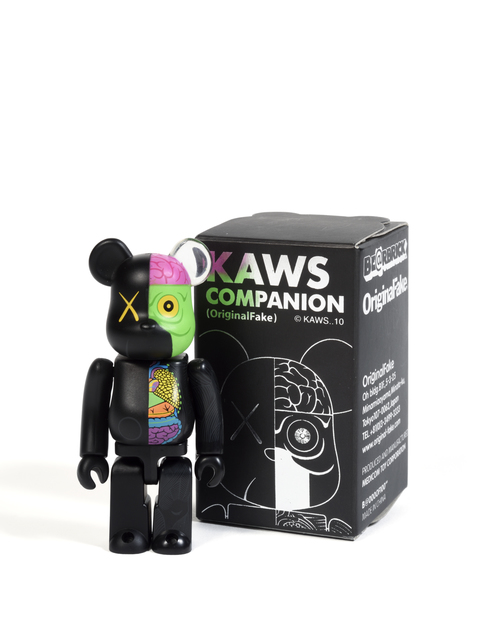 KAWS, 'Bearbrick Dissected 100% (Black)', 2010, Sculpture, Painted cast vinyl, DIGARD AUCTION