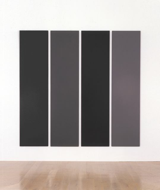 , 'Painting in Four Different Greys,' 1990, Annely Juda Fine Art