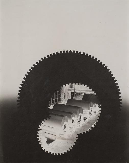 , 'Gears, paper rolls, building,' 1940-1941, Robert Koch Gallery