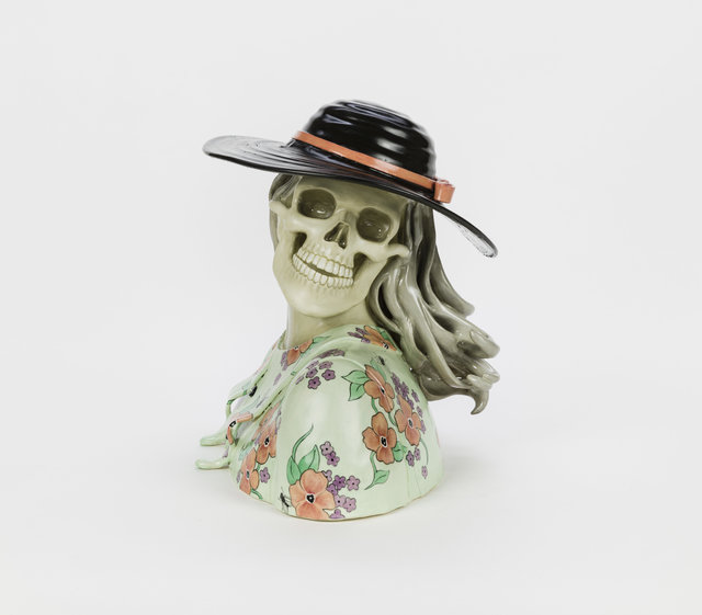 , 'Untitled (Floral Bust),' 2019, P.P.O.W