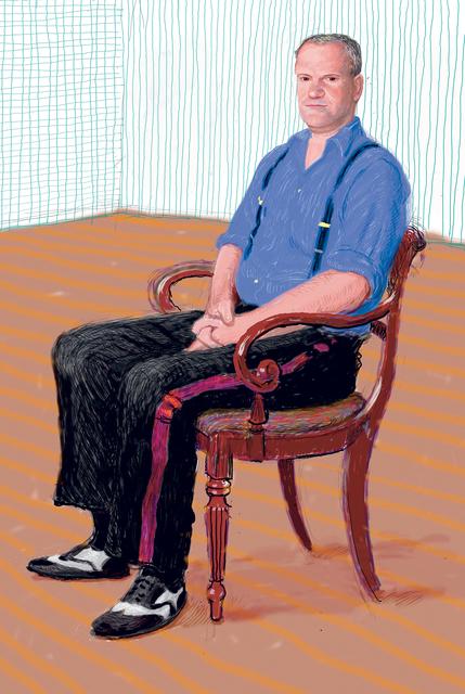 David Hockney, 'John Fitz-Herbert Monday 24th November ', 2008, Annely Juda Fine Art