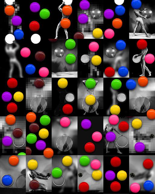 Bruce Eves, 'Work # 563: Big Balls 2', 2006, Robert Kananaj Gallery