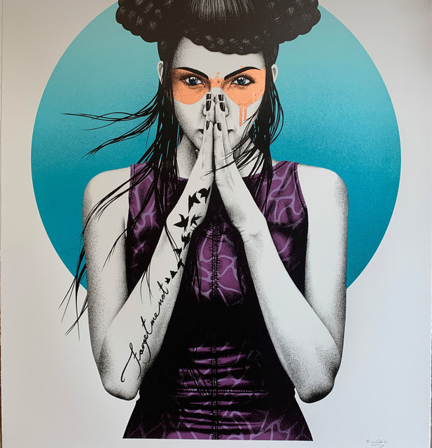 Fin Dac, 'Vergiss (Rose mask)', 2017, Jewel Goodby Contemporary
