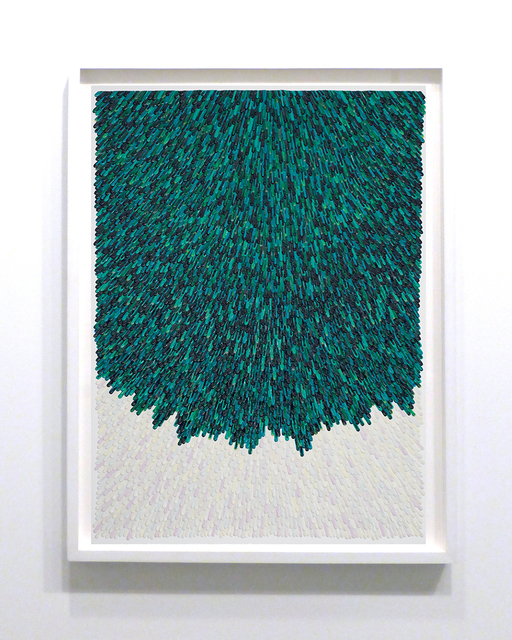 , 'Verde Verde de...Bianco Bianco como,' 2014, Margaret Thatcher Projects