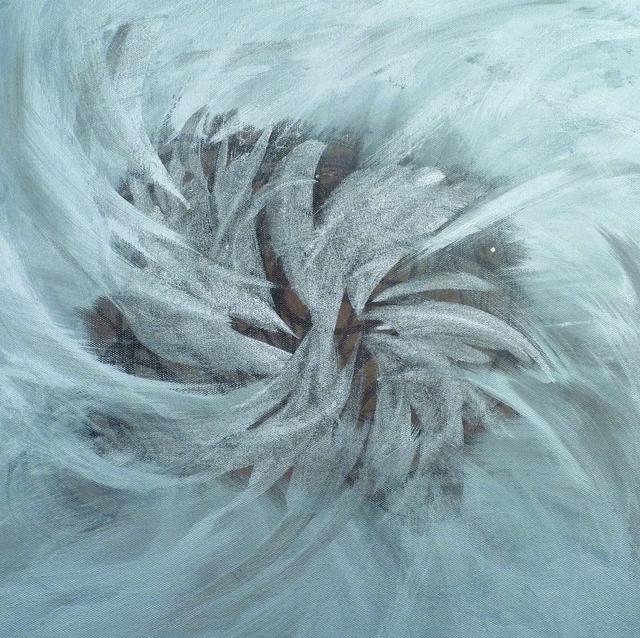 Masumi Sakagami, 'Gravity (Ver. New York, NY)', 2019, Painting, Organic Pigments Sumi Ink on Canvas, Walter Wickiser Gallery