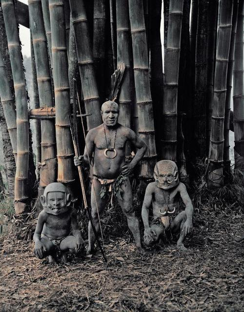 , 'XV 68 - Asaro Mudmen - Asaro, Eastern Highlands - Papua New Guinea,' 2010, AbrahamArt