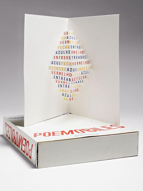 , 'Poemóbiles,' 1974, Galeria Marília Razuk