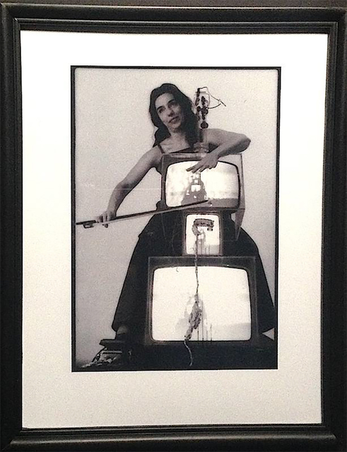 Paul Garrin, 'Charlotte Moormon, TV Cello, Whitney Museum', 1982, IFAC Arts