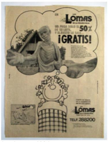 , 'Las Lomas,' 1984, Herlitzka + Faria