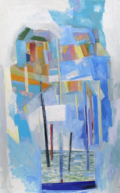 , 'Blue Sunset,' 2018, Artscoops