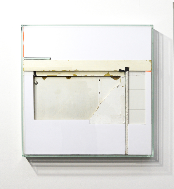 , 'white square #6,' 2015, galerie burster