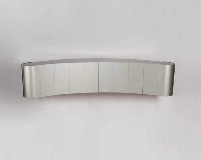 , 'Suspended Curved Bar Cabinet,' ca. 1971, Maison Gerard