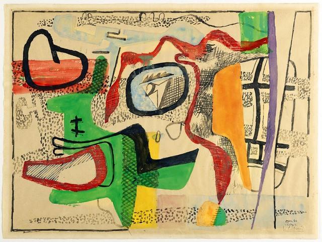 , 'Abstract Composition,' 1940-1941, R. S. Johnson Fine Art