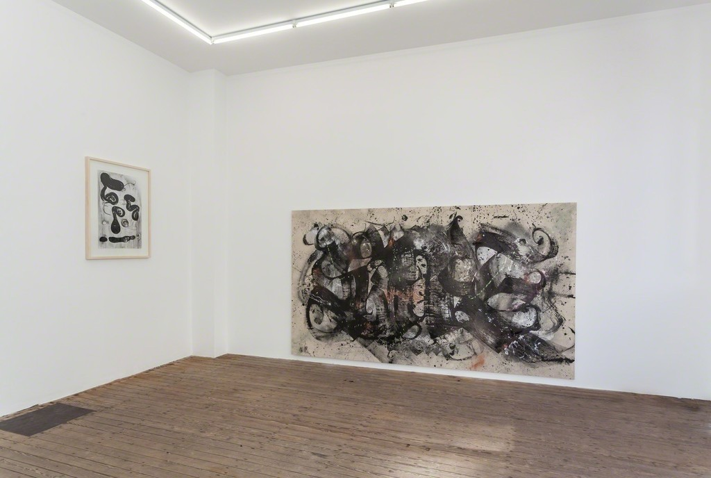 Installation view of Abstract Vandalism with work by Egs and Niels Shoe Meulman. Photo Peter Tijhuis.