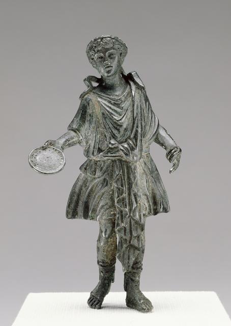 'Statuette of a Lar',  1st century, J. Paul Getty Museum