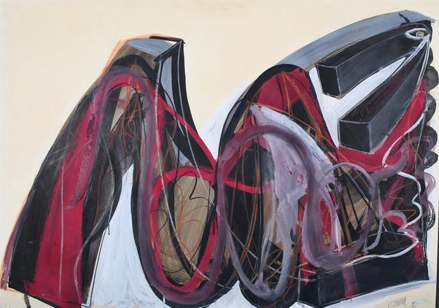Wolf Vostell, 'Untitled', 1986, Galerie aKonzept