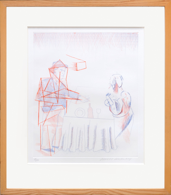 , 'Figures with Still Life.,' 1977, Peter Harrington Gallery