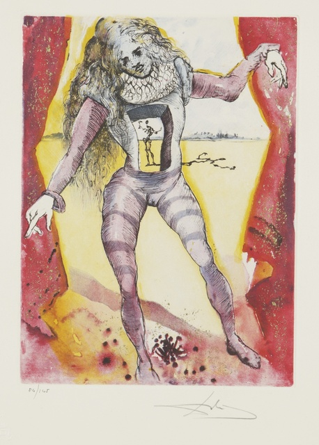 Salvador Dalí, 'Hamlet (M. & L. 607-616; F. 73-2 A-J)', 1973-4, Print, The complete portfolio, comprising ten etchings printed in colors with handcoloring, Sotheby's