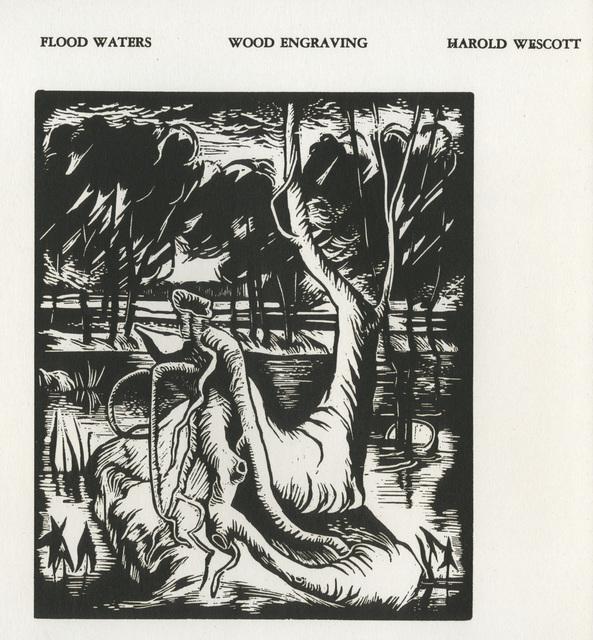 Harold Wescott, 'Flood Waters ', 1937, David Barnett Gallery