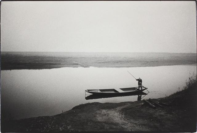 , 'Ferryboat, Itakura, Gunma (To the Villages series),' 1974, MIYAKO YOSHINAGA