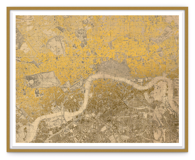 , 'Sacred London (Gold),' 2016, London Contemporary Art / Store Street Gallery