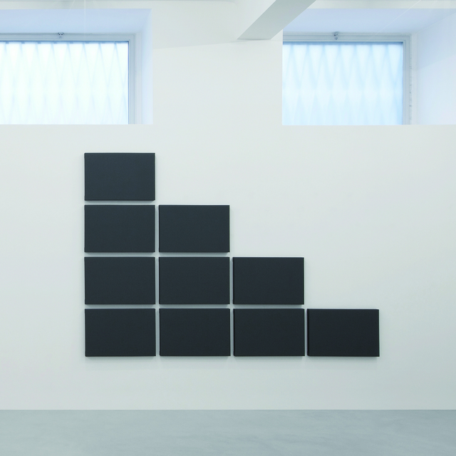 , 'Triangle Grid Painting,' 2011, A arte Invernizzi