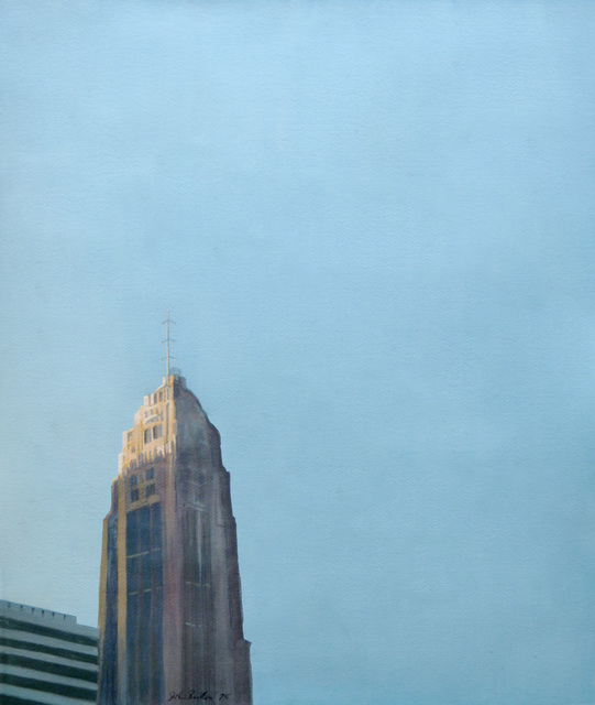 John Button, 'Lincoln Tower', 1982, Painting, Gouache on paper, ClampArt