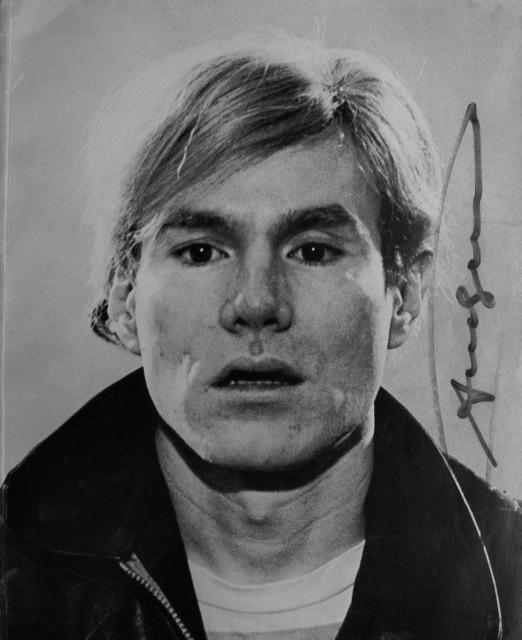 "Andy Warhol, '""NY Graphic Society Exhibition Catalogue"", 1970, Signed Cover', 1970, VINCE fine arts/ephemera"