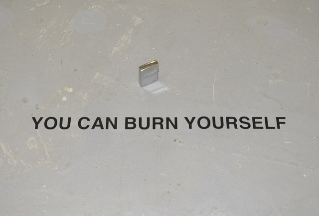 , 'YOU CAN BURN YOURSELF,' 2018, Hans & Fritz Contemporary