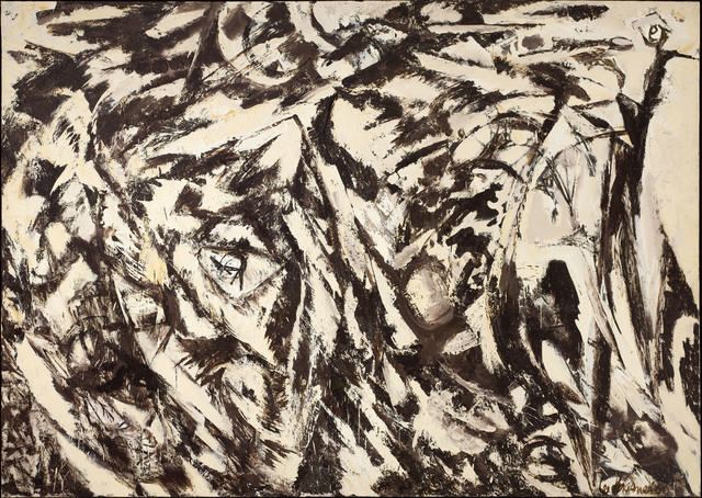 , 'Charred Landscape ,' 1960, Denver Art Museum