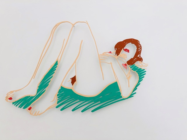 Tom Wesselmann, 'Blonde on Blanket  ', 1985/98, Galerie Leu