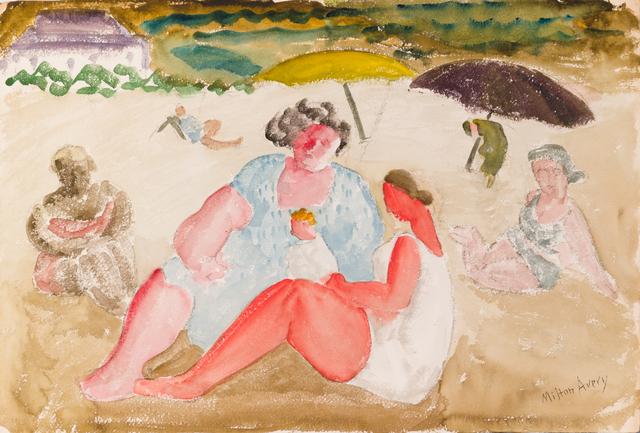Milton Avery, 'Untitled (Shore Baby)', ca. 1930, Yares Art