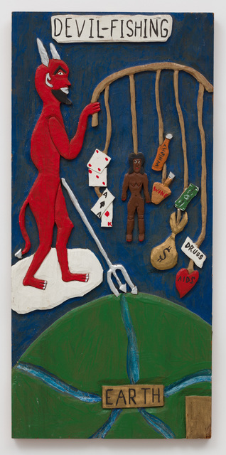 , 'Devil Fishing ,' 1990, The Good Luck Gallery