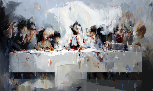 , 'Juvenile in Last Supper,' , Ode to Art