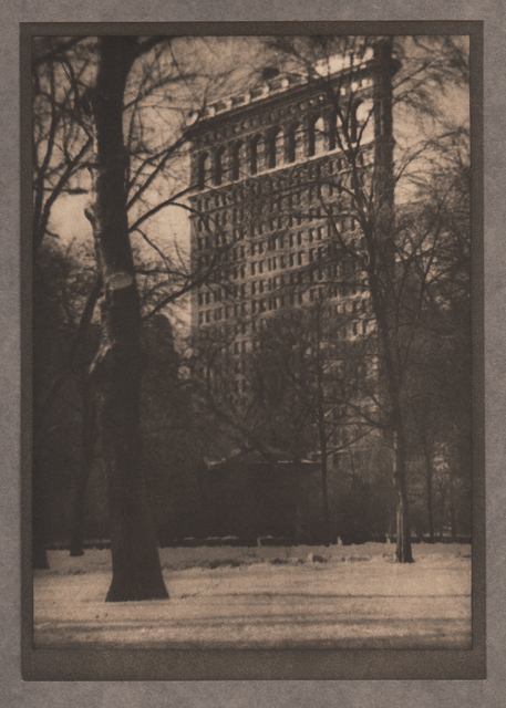 , 'The Flat-Iron,' Neg. date: 1909 c. / Print date:1909, Alan Klotz Gallery