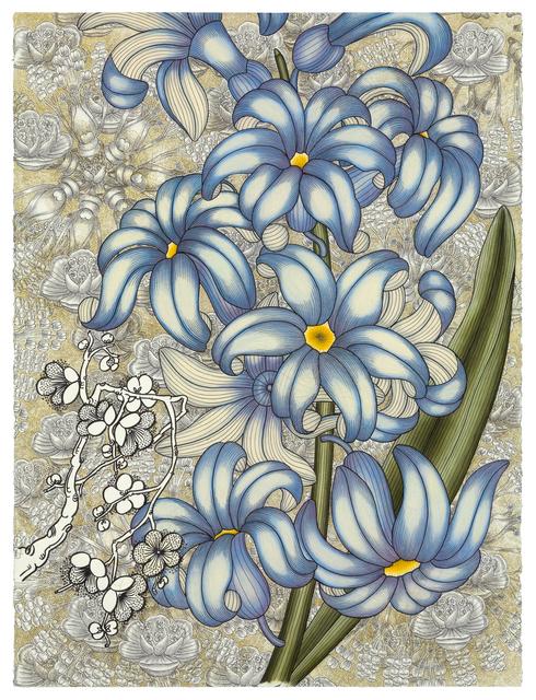 , 'Blue Flower,' 2017, Reynolds Gallery