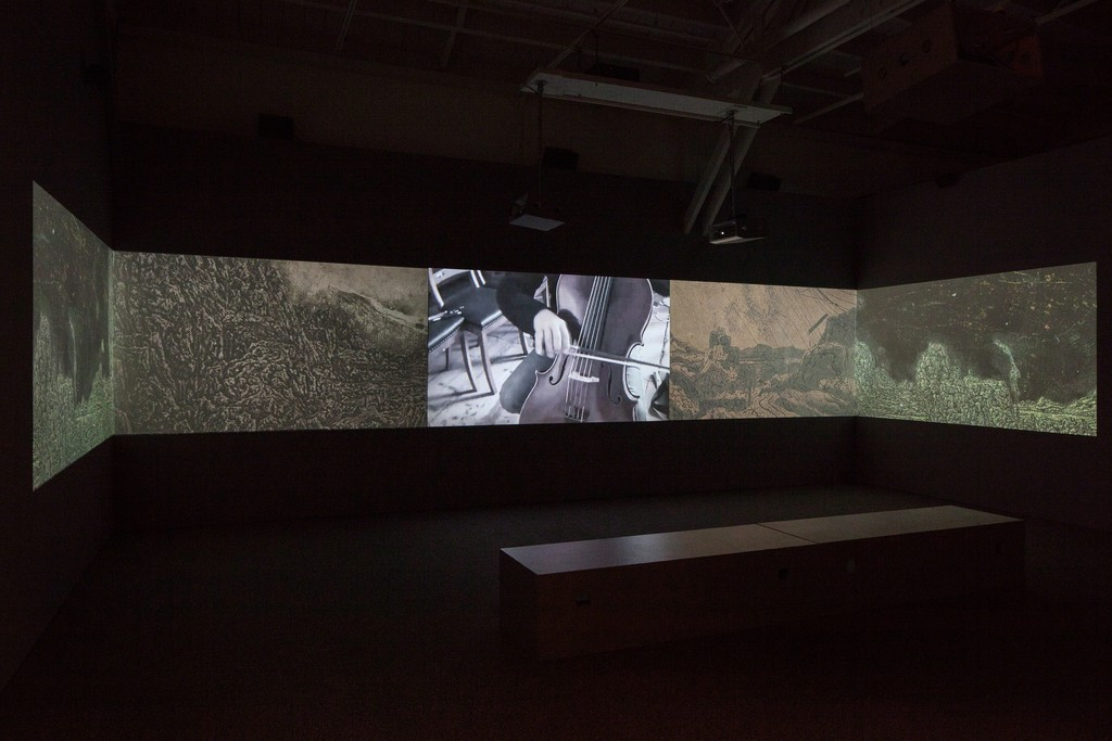"Installation view of ""Hearsay of the Soul."" Photo by Joan Arnold. Courtesy CCA Wattis Institute for Contemporary Arts"