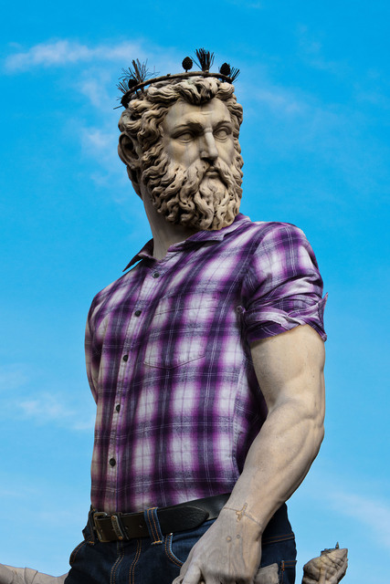 , 'Hipster in Stone XVII - Hercules,' 2014, VICTORI+MO CONTEMPORARY