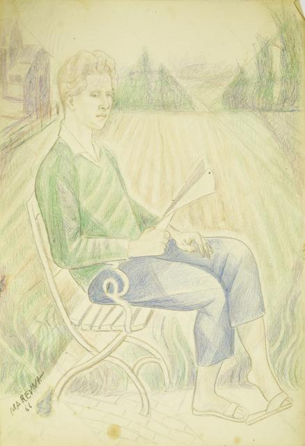 Marie Vorobieff Marevna, 'Jean Diego Brusset in Amsterdam', 1966, Roseberys