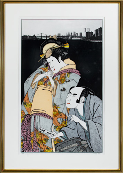 , 'Love Letter, After Kunimasa,' 1978, David Barnett Gallery